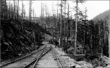 Northern Pacific switchback, Cascade Mountains, n.d.