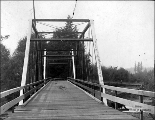 Bridge, vicinity of Olympia, ca. 1899
