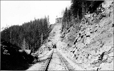 Northern Pacific Railway Co. tunnel at Stampede Pass, Cascade Mountains, n.d.