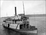 CLARA BROWN sternwheel steamer, n.d.
