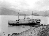 Wreck of the sidewheel steamboat ELIZA ANDERSON in her final resting place in Dutch Harbor on...