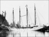 Four mast schooner ANDY MAHONEY