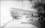Sailing vessel COLORADO at unidentified dock, n.d.