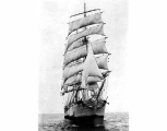 Sailing vessel GENERAL DE SONIS under sail, n.d.