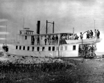 Klamath Lake Navigation Co.'s passenger and freight steamer KLAMATH, Klamath Lake, 1905