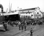 U.S. Army transport DIX at the Arlington Dock, Seattle, , ca. 1907