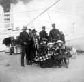 Crew and passengers aboard the steamer LAWTON, n.d.