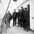 Crew aboard the steamer LAWTON, n.d.