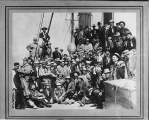 Passengers aboard the S.S. PORTLAND, ca. 1897