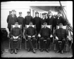 Captain and crew of the S.S. PORTLAND, n.d.