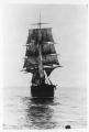 Schooner Prussia at sea, n.d.