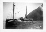 Steam schooner SANTA ANA, Seward, Alaska, 1903