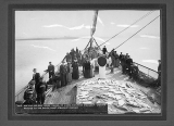 Deck and passengers aboard the steamship SPOKANE, Alaska, n.d.