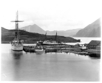 U.S. Revenue Cutter THETIS and the S.S. CORWIN, Unalaska,  n.d.