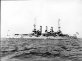 Battleship U.S.S. CONNECTICUT, 1908