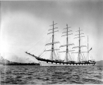 Schooner LYNTON, probably San Francisco, ca. 1870s