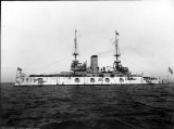 Battleship U.S.S. ALABAMA, 1908