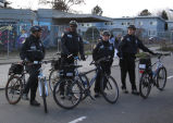 Bicycle cops