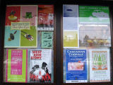 Flyers in Window