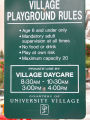 Village Playground Rules