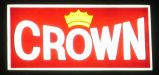 "Crown Inn, detail of sign - ""Crown"""