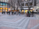 Critical Mass assembling at Westlake Park