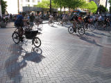 Critical Mass takes to the streets