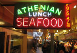 Athenian Seafood, Lunch and Cocktails