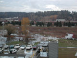 Lake Truly area and North Creek flooding after heavy autumn rains