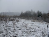 Snow on floodplain and buffer
