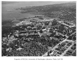 Aerial of campus taken from the northwest, University of Washington, 1949
