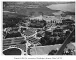 Aerial of campus taken from the southwest, University of Washington, July 1949