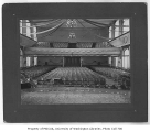 Administration Building (now Denny Hall) interior showing auditorium, University of Washington,...