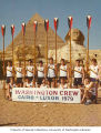 University of Washington Varsity Crew at the Pyramid and Great Sphinx at Giza during their trip to...