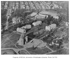 Aerial of campus taken from the south, University of Washington, ca. 1926