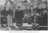 Theodore Roosevelt speaking at the University of Washington, April 6, 1911
