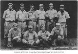 Baseball team, University of Washington, ca. 1912
