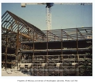 Allen Library under construction, University of Washington, ca. 1989