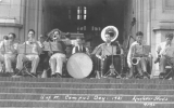 1931 Campus Day showing a band, University of Washington