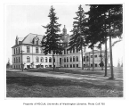 Administration Building (now Denny Hall) exterior showing west side, University of Washington, ca....