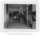 Administration Building (now Denny Hall) interior showing main entry, University of Washington,...