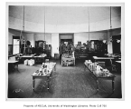 Denny Hall interior showing botany lab, University of Washington, n.d.
