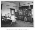 Denny Hall interior showing Professor Kincaid's laboratory, University of Washington, n.d.