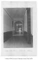 Administration Building (now Denny Hall) interior showing main floor hallway, University of...