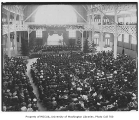 Commencement ceremony, University of Washington, June 14, 1908