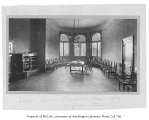 Administration Building (now Denny Hall) interior showing recitation room, University of...