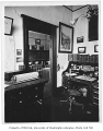 Denny Hall interior showing Professor Fuller's office, University of Washington, n.d.