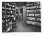 Denny Hall interior showing chemistry stock room, University of Washington, n.d.