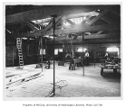 Denny Hall interior showing carpenter shop, University of Washington, n.d.