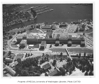 Aerial of Health Sciences complex, University of Washington, ca. 1960